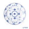ロイヤルコペンハーゲン(Royal Copenhagen) ブルー フルーテッド フルレースプレート(フラット) 19cm 1103620/1017238