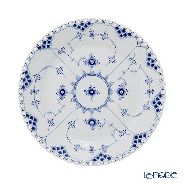 ロイヤルコペンハーゲン(Royal Copenhagen) ブルー フルーテッド フルレース プレート(フラット) 25cm 1103625