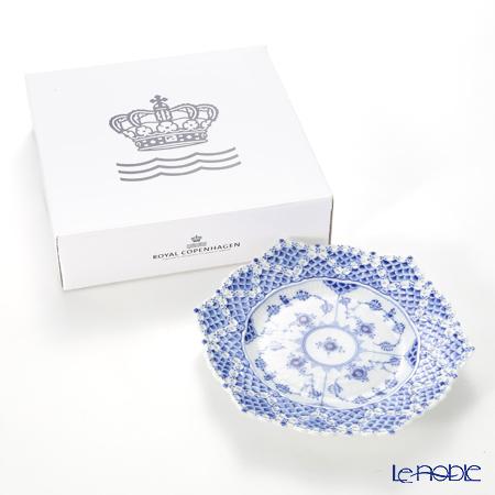 ロイヤルコペンハーゲン(Royal Copenhagen) ブルー フルーテッド フルレースプレート(ダブルレース) 21cm 1103636/1017241