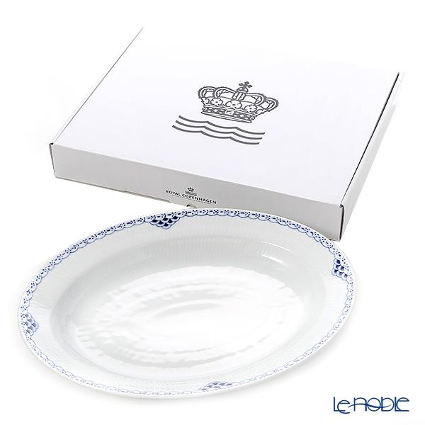 ロイヤルコペンハーゲン(Royal Copenhagen) プリンセス ブルーオーバルディッシュ 36.5cm 1104375/1017259