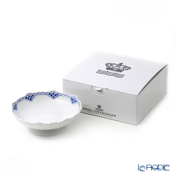Royal Copenhagen Princess Blue Copenhagen Cake dish with leg 17.5 x H6cm 1104427/1026451