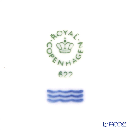 ロイヤルコペンハーゲン(Royal Copenhagen) ホワイト フルーテッド ハーフレースプレート(フラット) 22cm 1128622/1017294