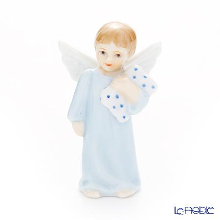 ロイヤルコペンハーゲン(Royal Copenhagen) フィギュリン 天使シリーズ男の子(枕) 7.5cm 1249119