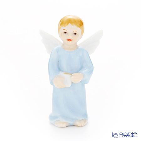 ロイヤルコペンハーゲン(Royal Copenhagen) フィギュリン 天使シリーズ 男の子(本) 7.5cm 1249121