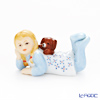 Royal Copenhagen Figurine Collection Girl with Puppy 3 cm, lie down 1249124