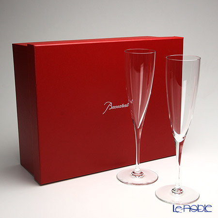 Baccarat Dom Perignon Flute set of two 1-845-244