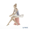 Nao 'Sitting Ballet Dancer (Wearing a Tutu)' 02001179 Ballet Dancer Figurine H13cm