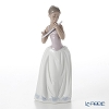 Nao 'Notes on the Wind (Girl Playing Flute)' 02001339 Children Figurine H28cm