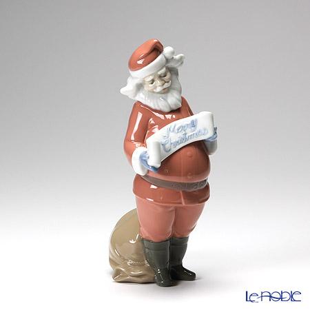 Nao 'Santa's Best Wishes' 02001399 Christmas Figurine H22.5cm