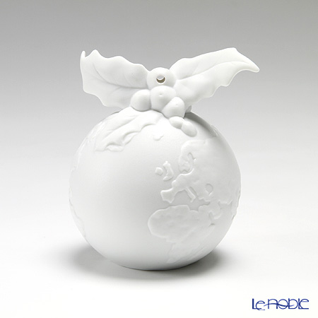 Nao 'Christmas Ball (Deco Holly)' 02001584 Ornament H10cm