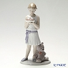 Nao 'Birthday Girl (Girl Holding Cake with Teddy Bear)' 02001737 Children Figurine H25cm