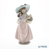 Nao 'It's a Picnic (Girl with Basket and Doll)' 02001902 Children Figurine H25.5cm