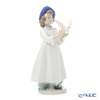 NAO 'I Help You to Fly (Bird)' 02001923 Girl & Animal Figurine H20cm