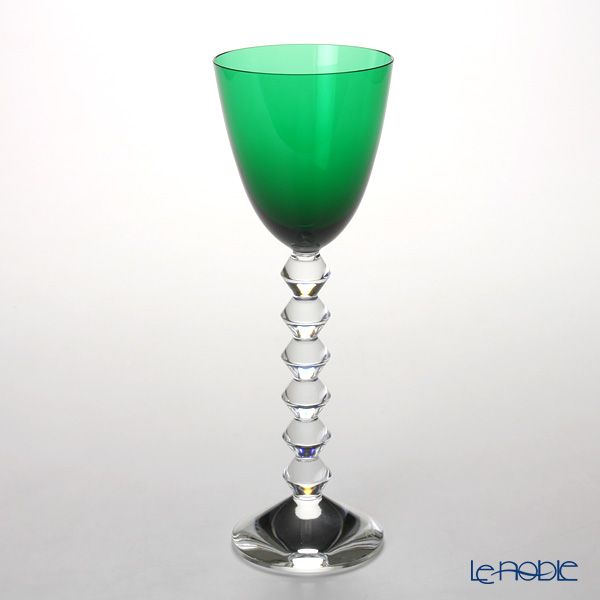 バカラ(Baccarat) ベガ 2-100-906 ラインワイン 22.8cm グリーン