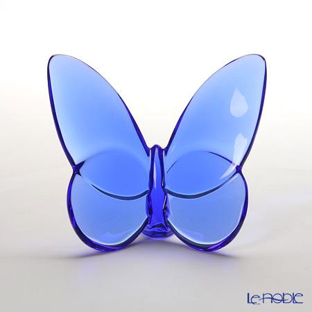 バカラ(Baccarat) オブジェ 2-102-546 ラッキーバタフライ ブルー