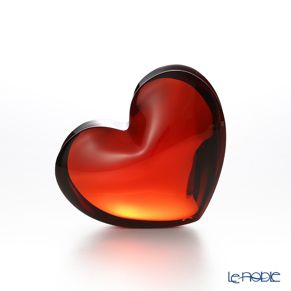 Baccarat Zinzin Heart L, red 2-103-967