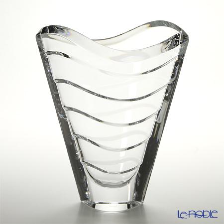 バカラ(Baccarat) ウェーブ 2-104-168 ベース(花瓶) 30cm