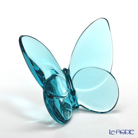 Baccarat Papillon Lucky Butterfly, turquoise blue 2-105-932