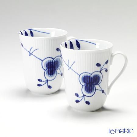 Royal Copenhagen Blue Fluted Mega Mug, 2-pack 2381039