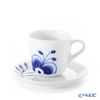 Royal Copenhagen 'Blue Fluted Mega' Espresso Cup & Saucer 90ml 2381050/1016875