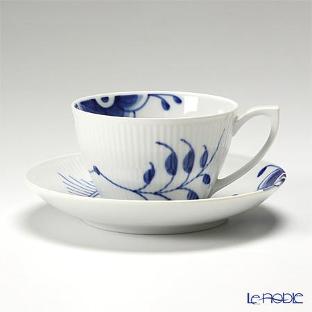 Royal Copenhagen Blue Fluted Mega Cup & saucer 28 cl, tea 2381086