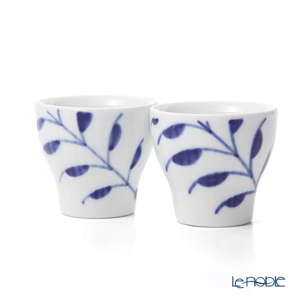 Royal Copenhagen 'Blue Fruited Mega' Egg Cup H5cm (set of 2)