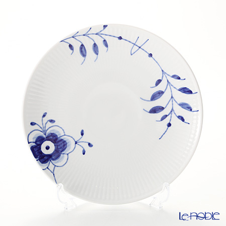 Royal Copenhagen Blue Fluted Mega Plate, Coupe, 19 cm 2381729