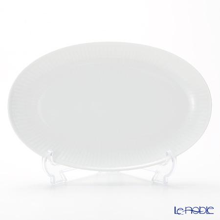 Royal Copenhagen (Royal Copenhagen) white fluted plain Over dish 23.5 x 15 cm 2408356