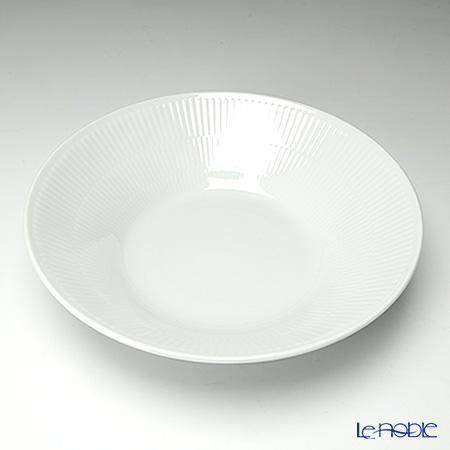 Royal Copenhagen White Fluted Deep plate 24 cm 2408606