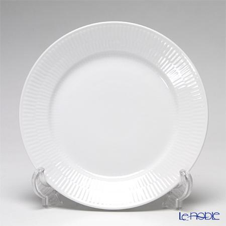 Royal Copenhagen 'White Fluted' 2408622 Lunch Plate 22cm