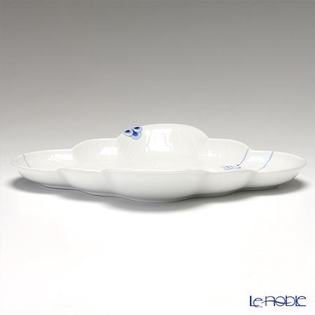 Royal Copenhagen 'Blue Palmette' Diamond shaped Dish 26.5x22.5cm 2500726