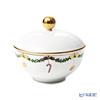 Royal Copenhagen 'Star Fluted Christmas' 2503156/1021103 Covered Sugar Bowl 150ml