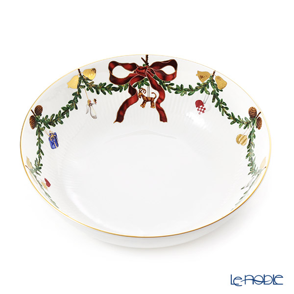 Royal Copenhagen 'Star Fluted Christmas' Bowl 23.5cm 2503579/1017452