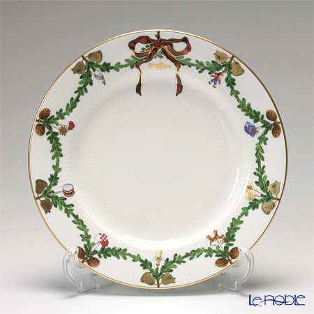 Royal Copenhagen Star Fluted Christmas Plate 22 cm 2503622