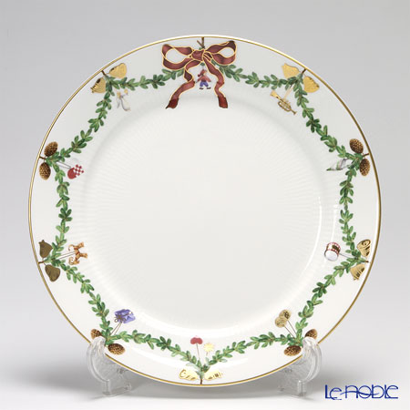 Royal Copenhagen Star Fluted Christmas Dinner plate 27 cm 2503627