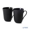Royal Copenhagen 'Black Fruited Plain' 2526039/1017006 Mug 350ml (set of 2)
