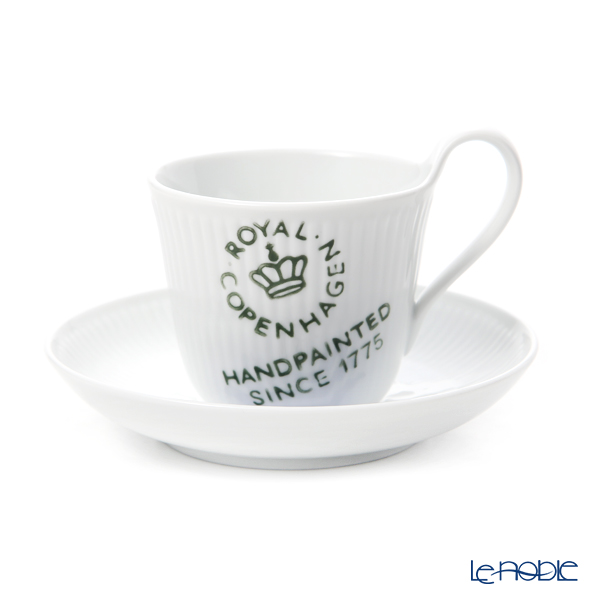 Royal Copenhagen Fluted Signature High handle cup & saucer 25 cl 2556092