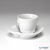 Royal Copenhagen White Elements Espresso cup & saucer 2597056