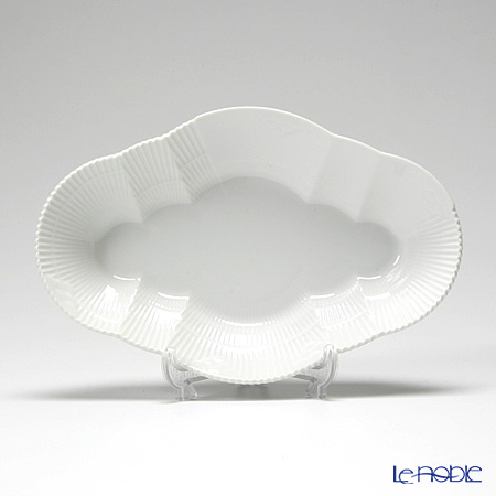 Royal Copenhagen White Elements Dish, 23 cm 2597353