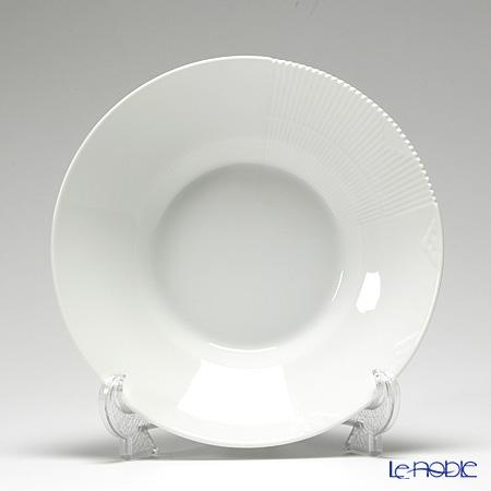 Royal Copenhagen 'White Elements' 2597604/1017495 Deep Plate 24.5cm