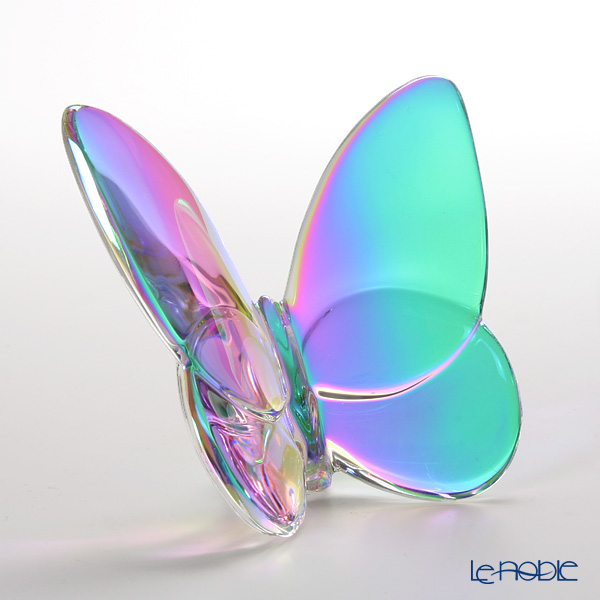 Baccarat Papillon Lucky Butterfly, Iridescent Clear 2-601-482