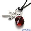 Baccarat 'B-Mine (Octagonal)' Red / Silver 2601529 Pendant