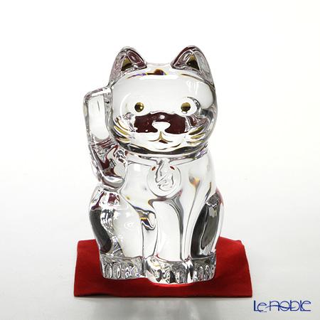 バカラ(Baccarat) オブジェ 2-607-786 まねき猫 10cm