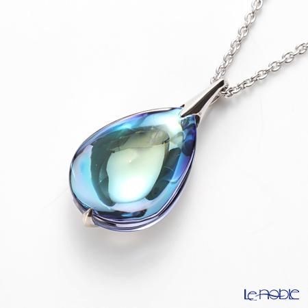 Baccarat Fleurs de Psydélic Necklace, Aqua Mirror 2-608-374