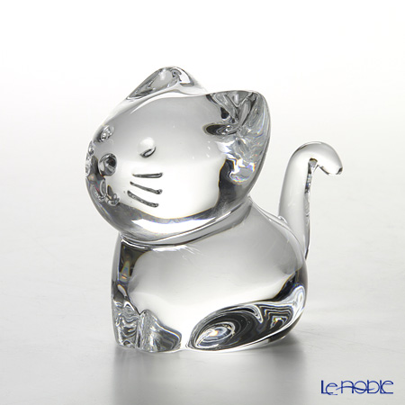 Baccarat 'Minimals - Kitty (Cat)' Clear 2-610-097 Object
