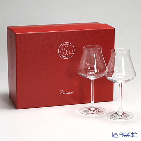 Baccarat Château Baccarat Red wine glass set of 2 2-611-151