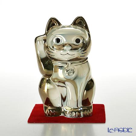 バカラ(Baccarat) オブジェ 2-612-997 まねき猫 10cm ゴールド