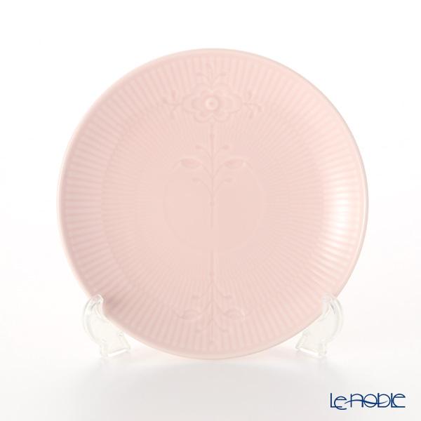 Royal Copenhagen 'Flower Emblem' Pink Coupe Plate 19cm 2637729