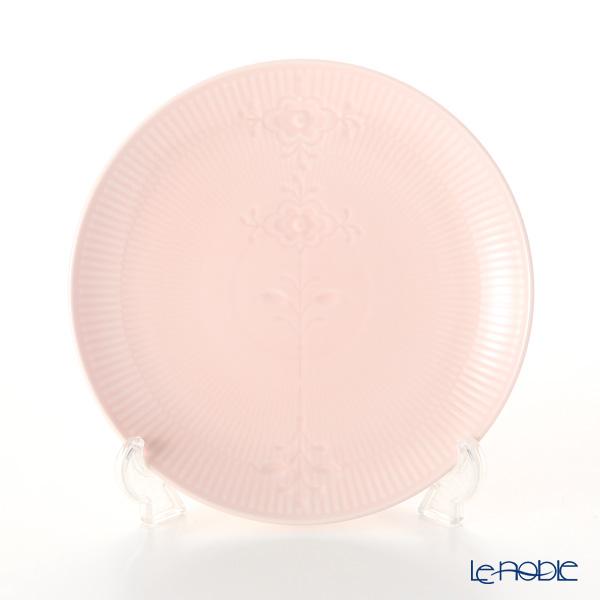 Royal Copenhagen 'Flower Emblem' Pink Coupe Plate 23.5cm 2637733