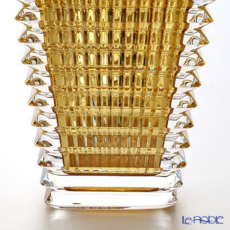 バカラ(Baccarat) EYE 2-802-297ベース(花瓶) スクエア S 20cm イエロー